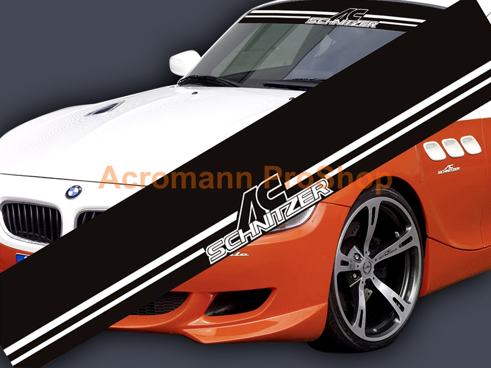 AC Schnitzer Windshield Decal (Style#6)